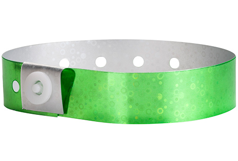 Plastic Holographic - Green