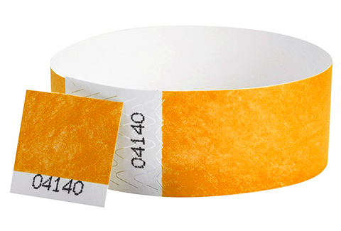 Tyvek&reg Stub - Neon Orange