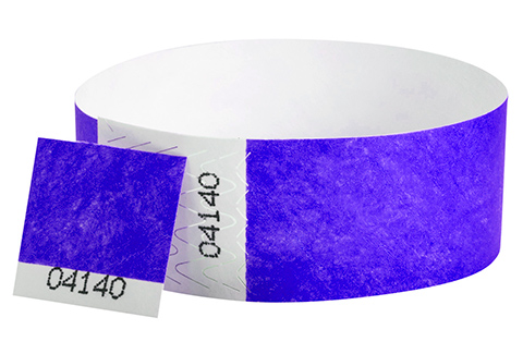 Tyvek&reg Stub - Purple