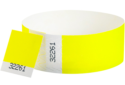Tyvek&reg Stub - Neon Yellow