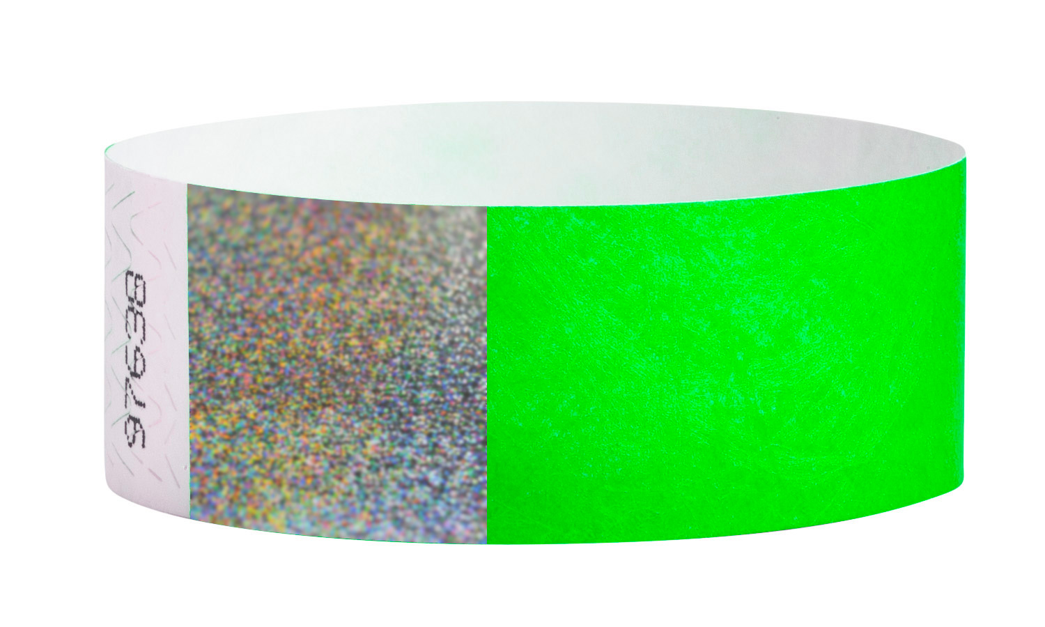 Tyvek® Hologram - Neon Green