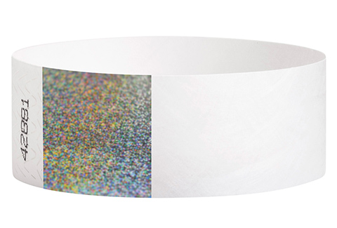 Tyvek&reg Hologram - White